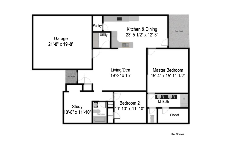 custom home builder granbury tx 3w homes